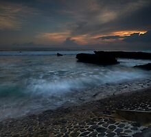 Evening Eco Beach by Marion Ardana