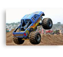 Monster Trucks - Big Things Go Boom Canvas Print