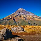 Mt Egmont, NZ by Dean Mullin