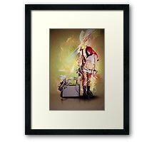 The Envi0us Star Framed Print