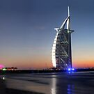 Burj Al Arab, Jumeirah-Beach, Dubai by AravindTeki