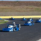 Superkart Montage by gary A. trounson