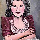 Portrait of my Mother by Pamela Plante