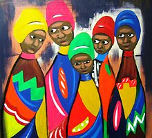 African Woman by Louise Henning