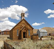 Bodie - A Ghostly Ghost Town by Patty Boyte
