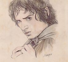Frodo  by morgansartworld