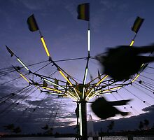 Carnival ride by Larry  Grayam