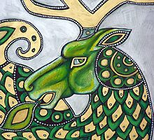The Green Stag by Lynnette Shelley