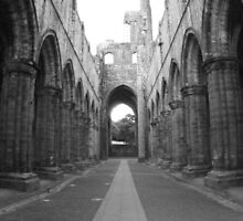 Kirkstall Abbey, Leeds by Mishimoto