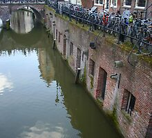 Oudegracht, Utrecht Netherlands by Mishimoto