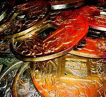 Chinese Coins by ShaunaRe