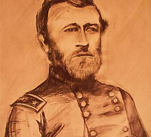 General Grant  pencil sketch by schiabor