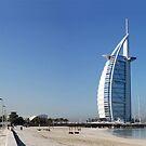 Burj Al Arab, Jumeirah-Beach, Dubai by AravindTeki