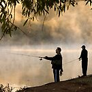 Fishing for Trout - Lake Dayleford by Hans Kawitzki
