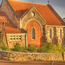 St Paul&#x27;s Church, Bridgetown, Western Australia by Elaine Teague