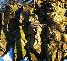 A Rocky Outcropping by Moxy
