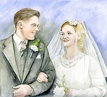 Wedding Portrait by morgansartworld