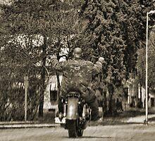 Ride Hard by EbelArt