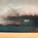 Dangerous Storm Approaches, Dublin South Australia by Greg  Sorenson