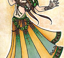 Sona Belly Dancer by lacychenault