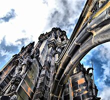 Up The Scott Monument by Andrew Ness - www.nessphotography.com