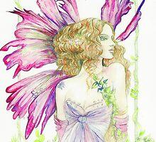 Fantasy Fairy Dianthus by morgansartworld
