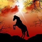 Horse Silhouette by krddesigns