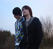 Steph&Dave - Band Photoshoot by Lurawrbelle-x