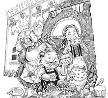 Hansel & Gretel by Norman Dapito