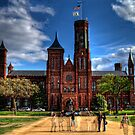 Smithsonian Castle HDR by Robert  Murray