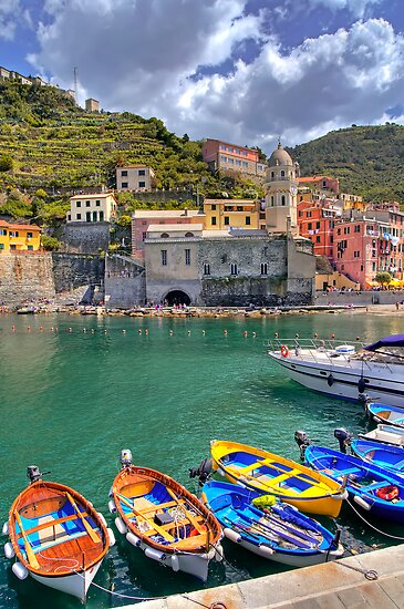 Vernazza - Five Lands - Marina by paolo1955