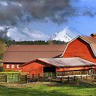 Mountain Farm by dbschanck
