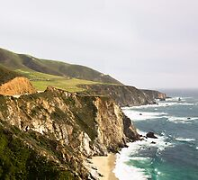 Pacific Coast Hwy - California, US by Sophie Gonin