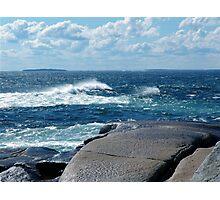 My Blue Ocean Photographic Print