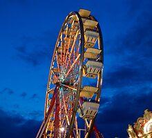 A Different Angle barkeypf carnaval lights ferris wheel by barkeypf