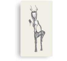 Sweet Elk* Canvas Print