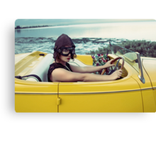i got a plane to fly Canvas Print