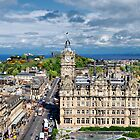 East End Of Princes Street by Andrew Ness - www.nessphotography.com
