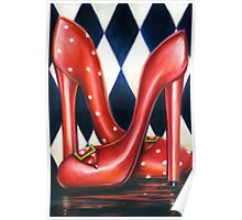 Red Shoe Required Poster