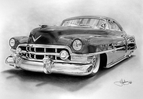 1950 Cadillac by John Harding