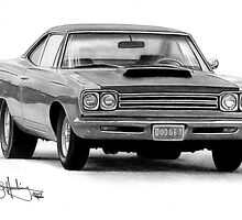 Plymouth Roadrunner by John Harding