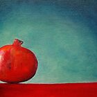'Pomegranate on Red' by Tracey Boulton