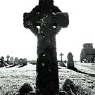 Cornwall: Celtic Cross at Tintagel Church by Rob Parsons
