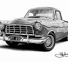 Old FC Holden Ute by John Harding