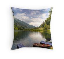 Feld am See ( Feld Lake ) - Carinthia - Austria Throw Pillow