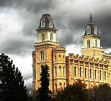 Manti LDS Temple  by Ryan Houston