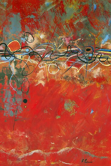 Red Meander by Ruth Palmer