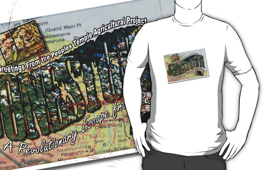 Jonestown Getaway T-Shirt by Fitcharoo