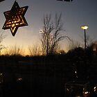 Winter's Evening, Langbroek, Holland by Kate Harriman