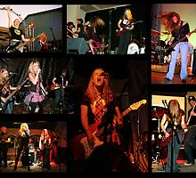 Rock music collage by KellyJo